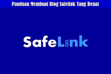 Cara Lengkap Membuat Blog Safelink Blogger Auto Generate Terbaru Work 100%