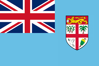 Fiji (Republik Kepulauan Fiji) || Ibu kota: Suva