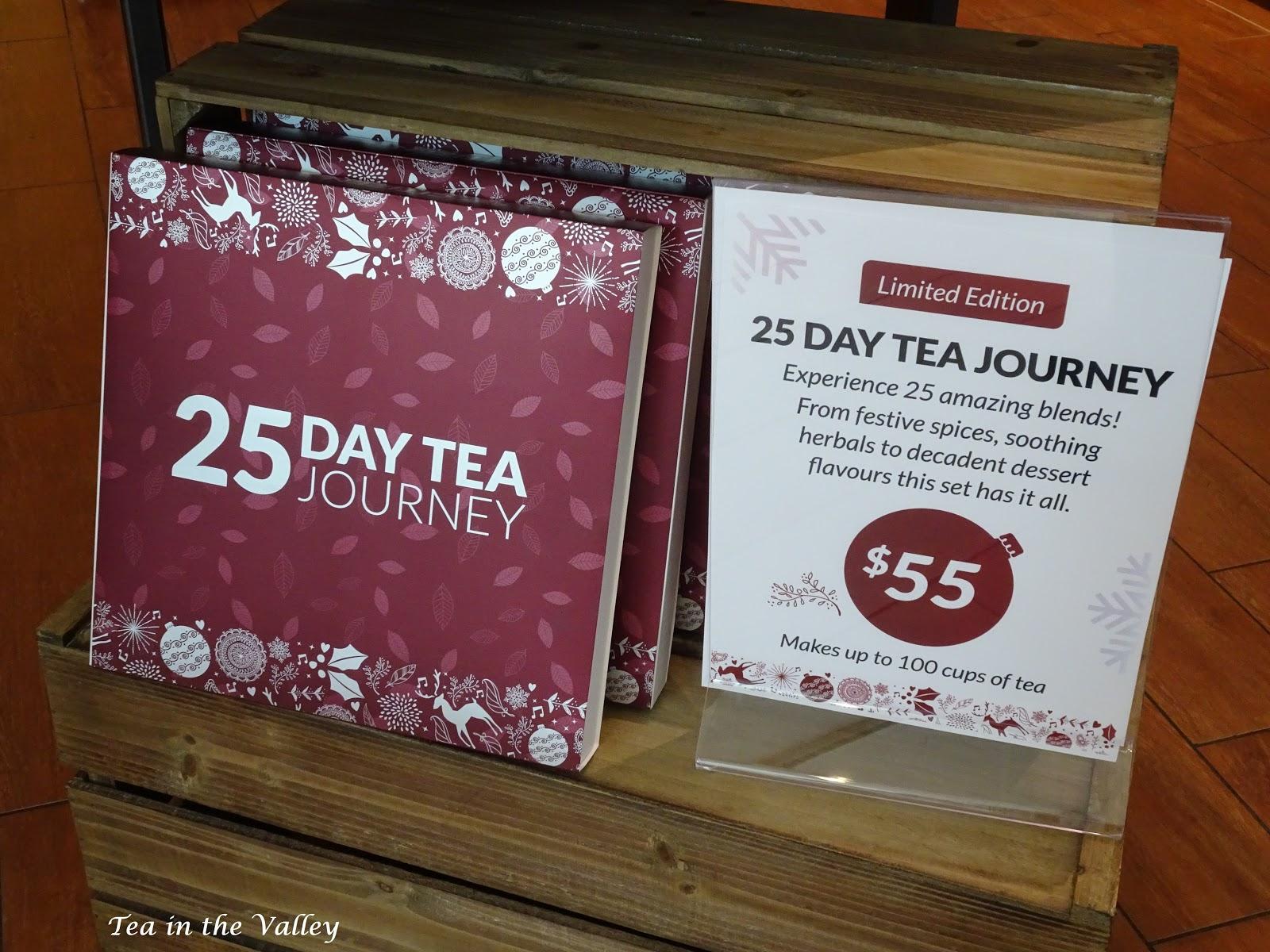 tea in the valley tea advent calendars. Black Bedroom Furniture Sets. Home Design Ideas