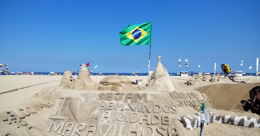 Allan Harding: Arrived in Rio, Brazil