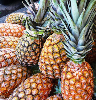 Bunch of pineapple