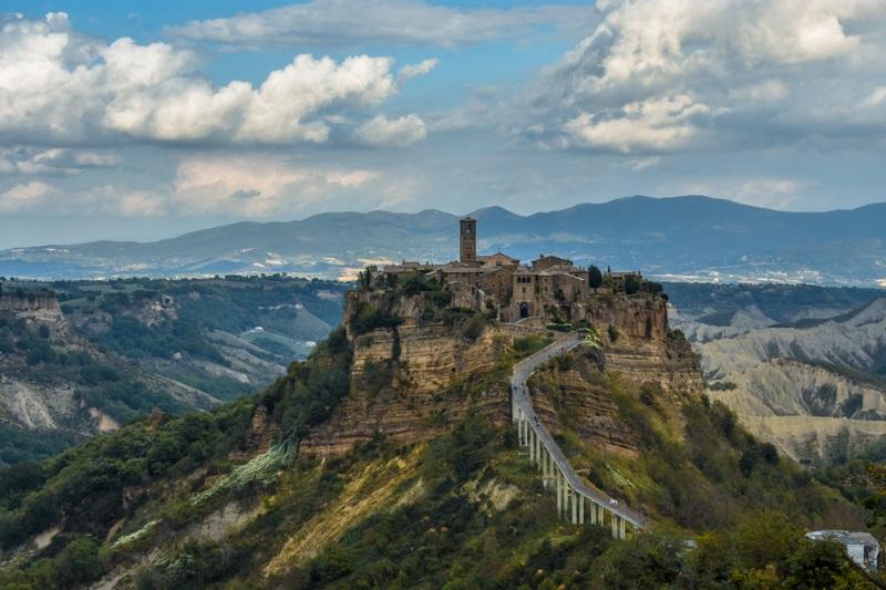 Civita di Bagnoregio in Italy