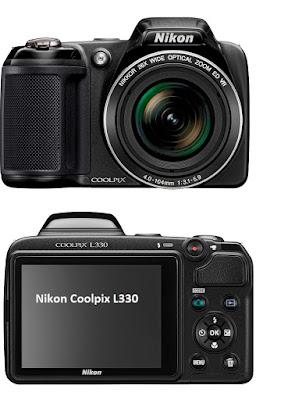 Nikon Coolpix L330 digital camera specifications