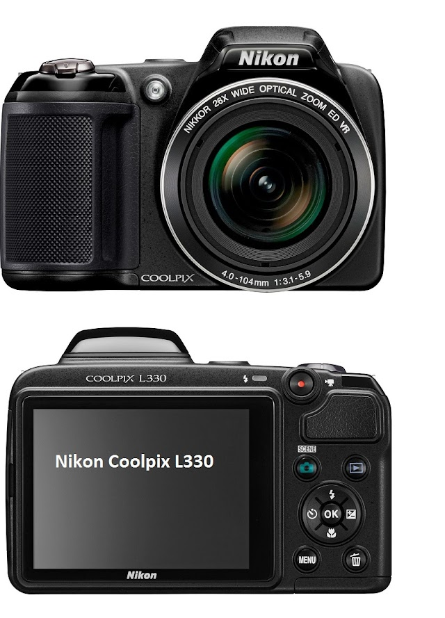 Nikon Coolpix L330 digital camera specifications