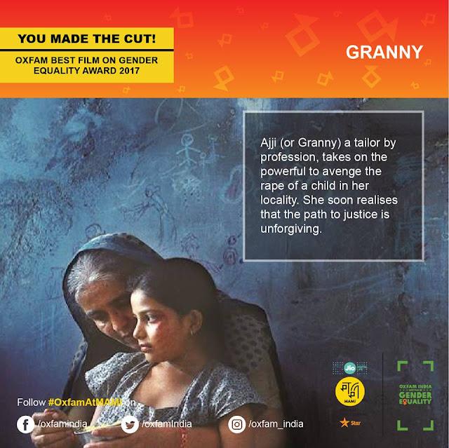 MAMI-JioMAMI-Oxfam-Cinemawallah-Jury-devashish-makhija-Granny-Ajji