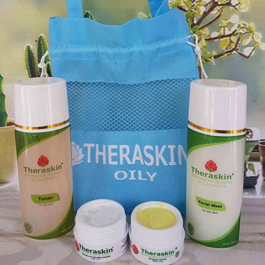 Paket Theraskin Cream Oily Bpom