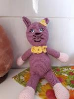 Örgü Oyuncak Kedi Yapımı