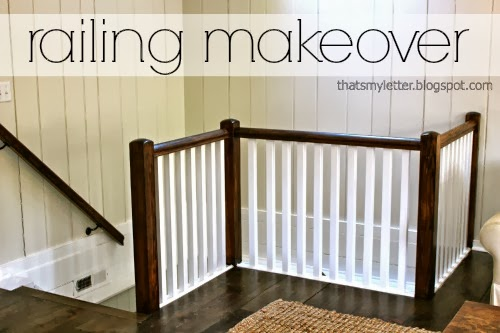 railing makeover