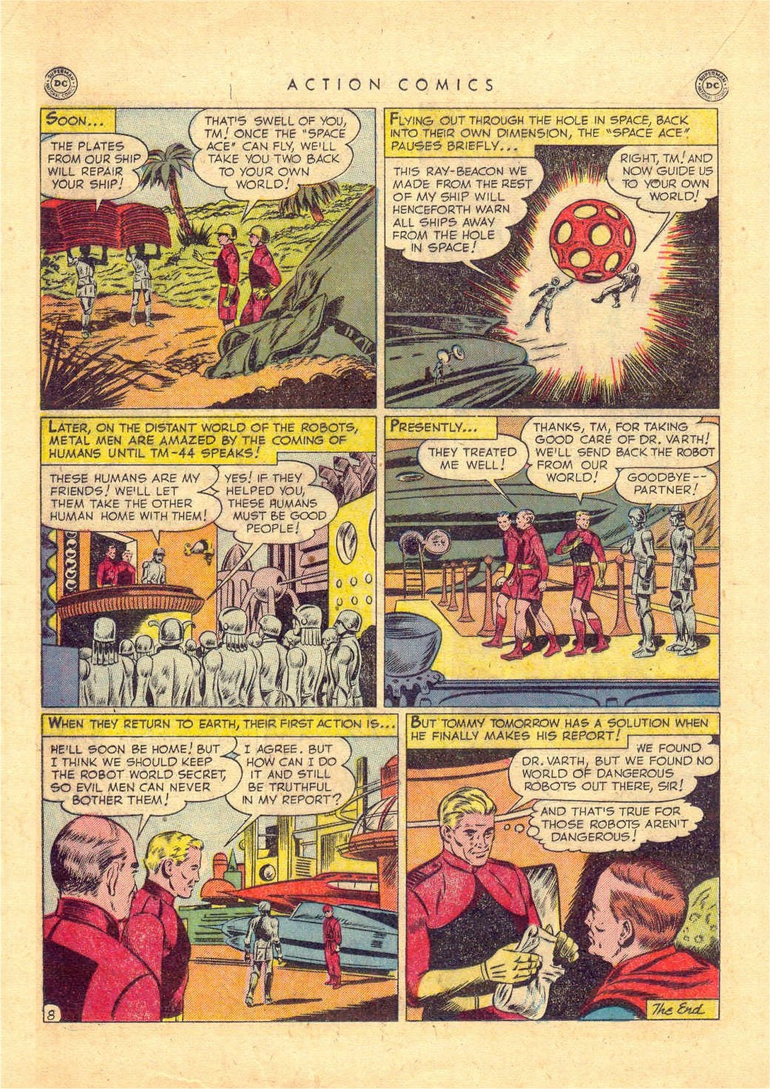 Read online Action Comics (1938) comic -  Issue #156 - 23
