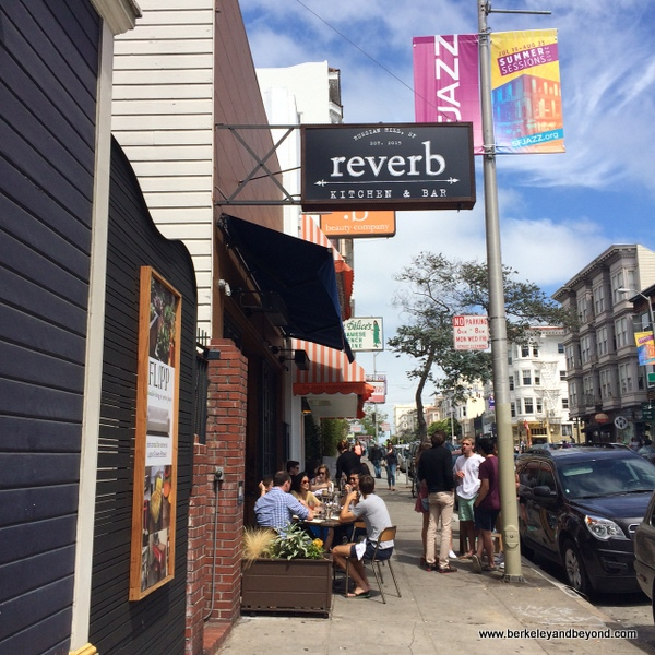 exterior of Reverb Kitchen & Bar in San Francisco
