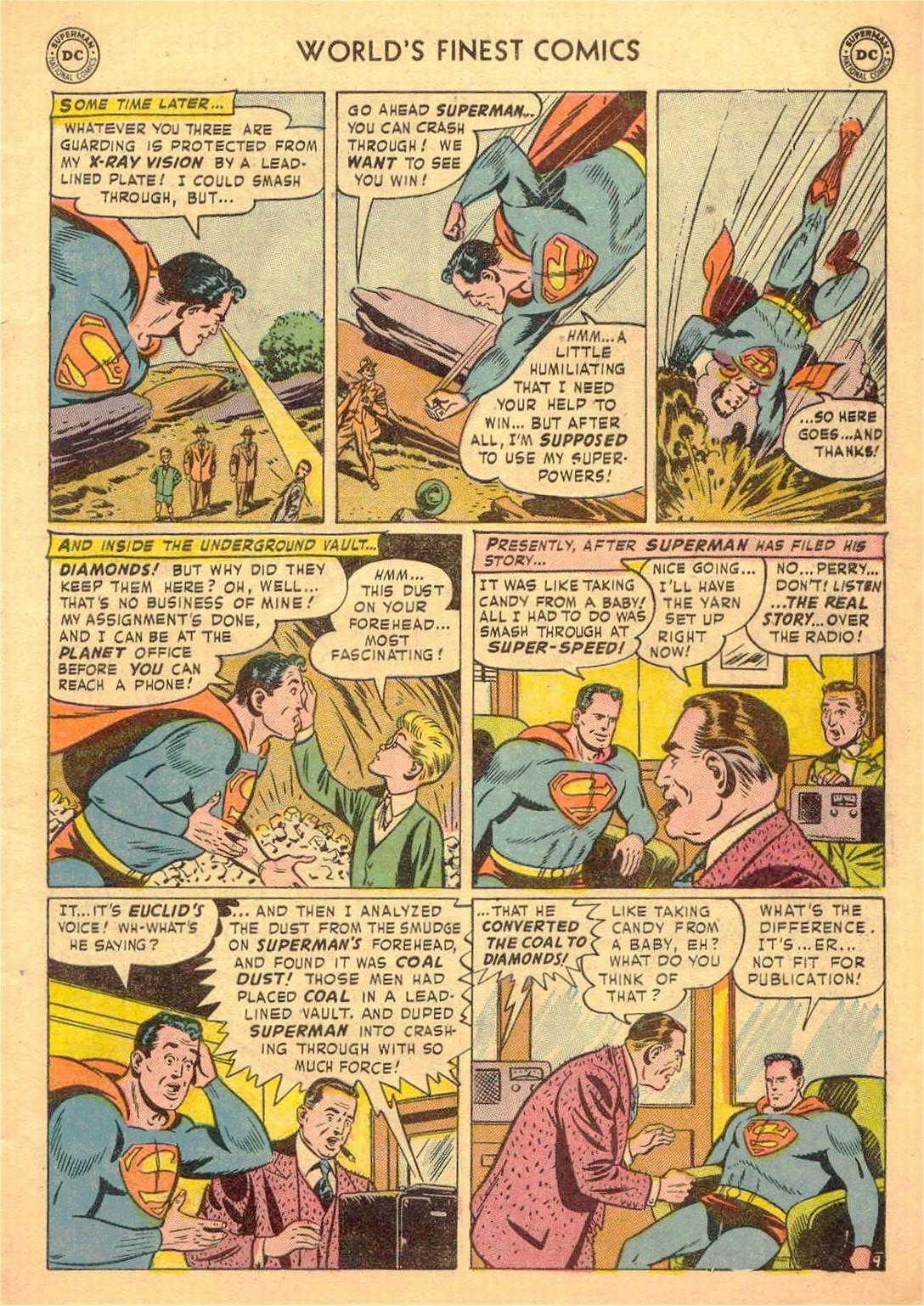 Read online World's Finest Comics comic -  Issue #58 - 11