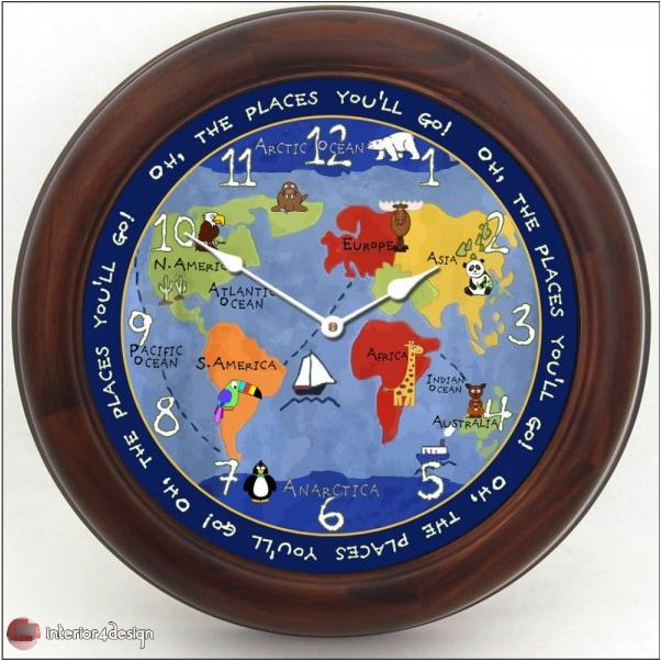 Wall Clocks For Kids Rooms 12