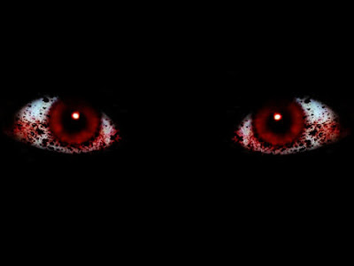"""Red Eyes"" - Glovertown's glow-in-the-dark #UrbanLegend. #amwriting"