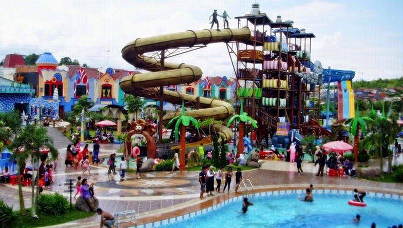 Harga Tiket Caribbean Island Waterpark Balikpapan Kalimantan Timur