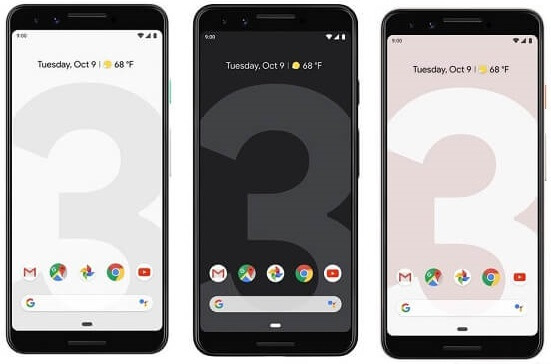 Google Launches Pixel 3 and Pixel 3 XL