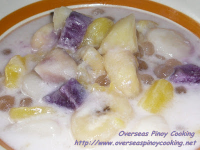Ginataang Halo-Halo Recipe