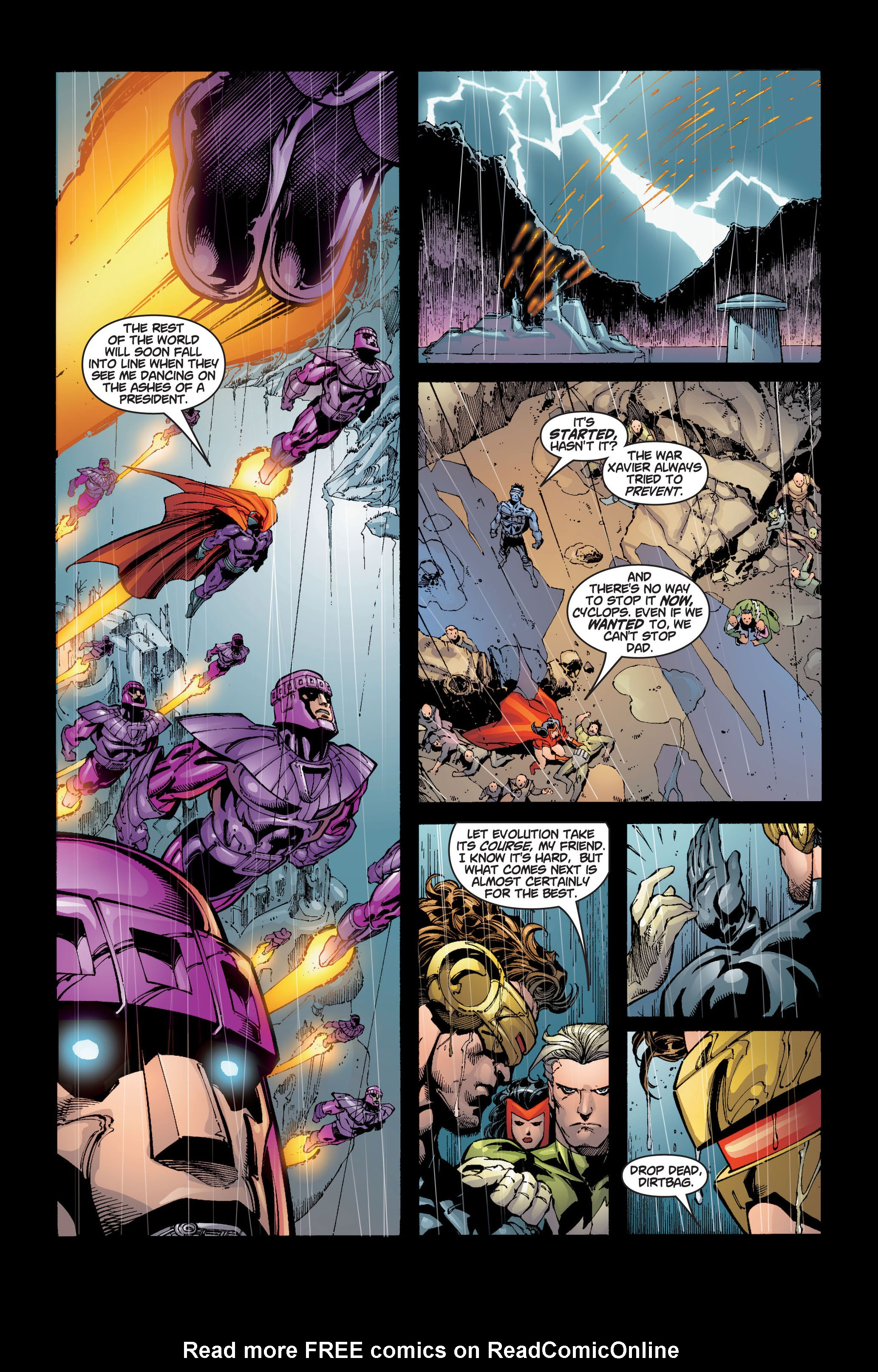 Read online Ultimate X-Men comic -  Issue #5 - 21