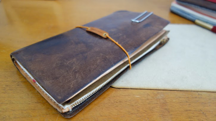 Safari Leather Traveler S Notebook