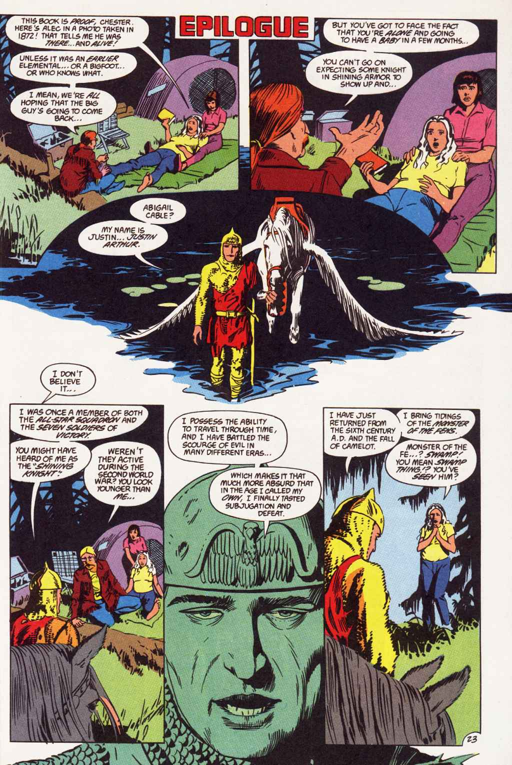 Swamp Thing (1982) Issue #87 #95 - English 14