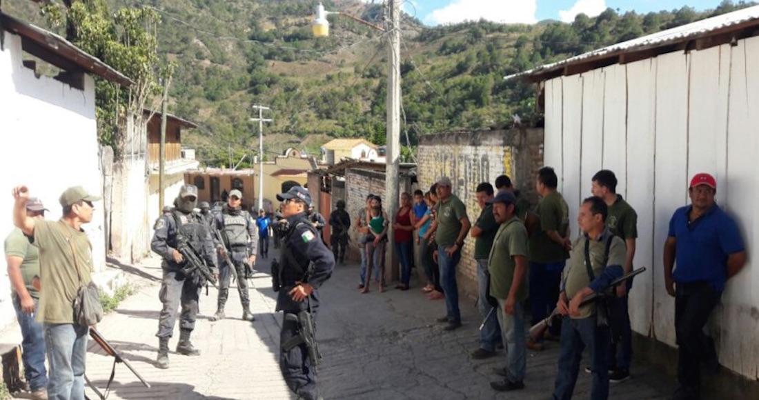 Sicarios irrumpen en pueblos de Guerrero y la gente los saca a tiros: el ejercito los abandono a sus suerte, señalan