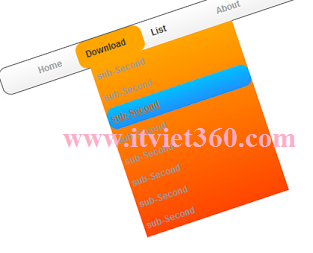 menu CSS3 Navigation for blogspot