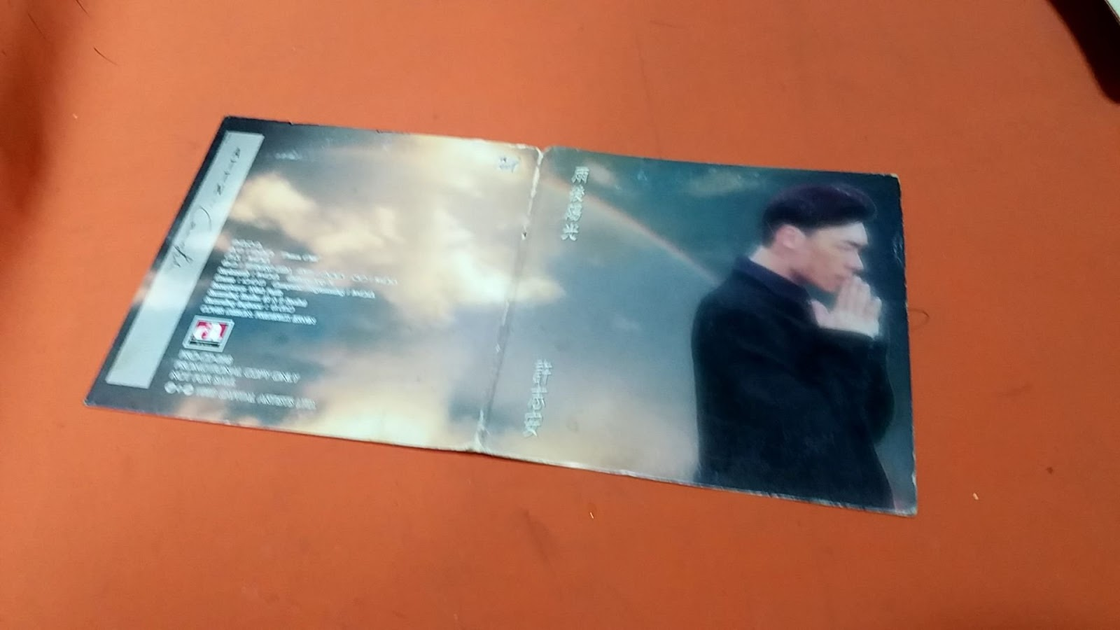 come back to love: 許志安 - 雨後陽光 (1993)