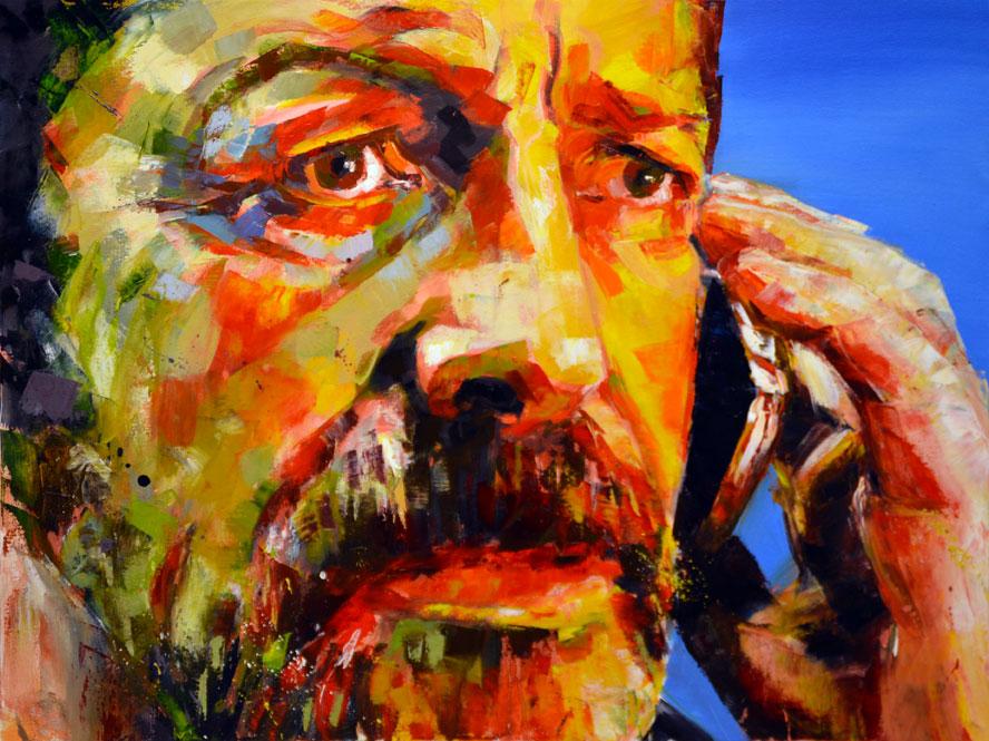 эмоции людей в картинах художников здание