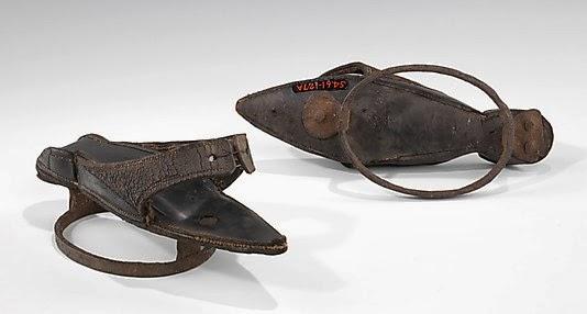 Two Nerdy History Girls: Foul-Weather Footwear: Pattens