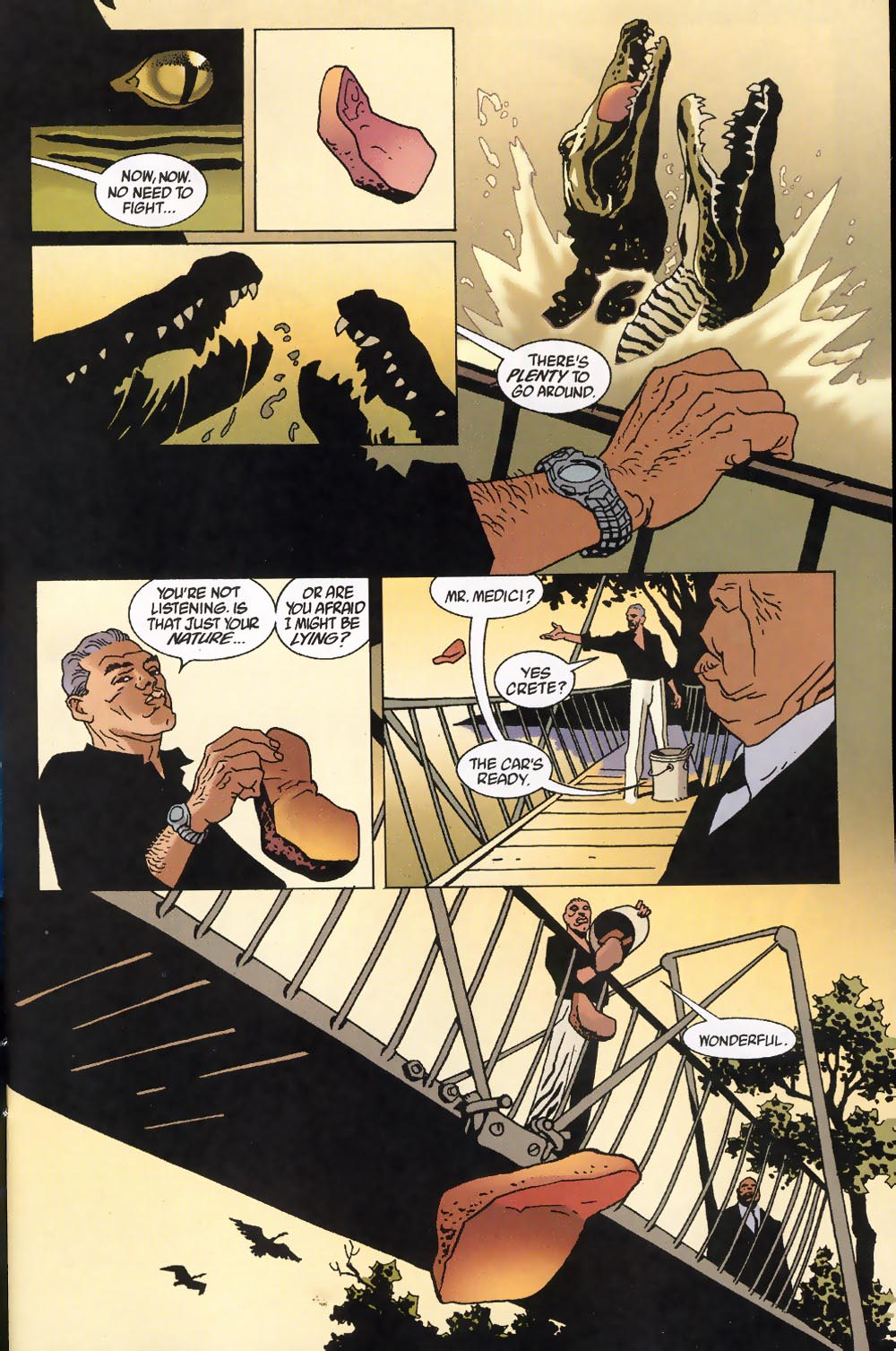 Read online 100 Bullets comic -  Issue #39 - 3