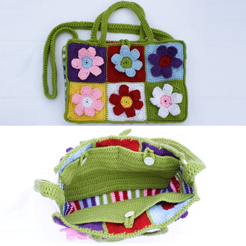 Flower Power Beach Bag - Free Pattern