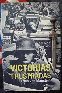 Portada del libro Victorias frustradas, de Erich von Manstein