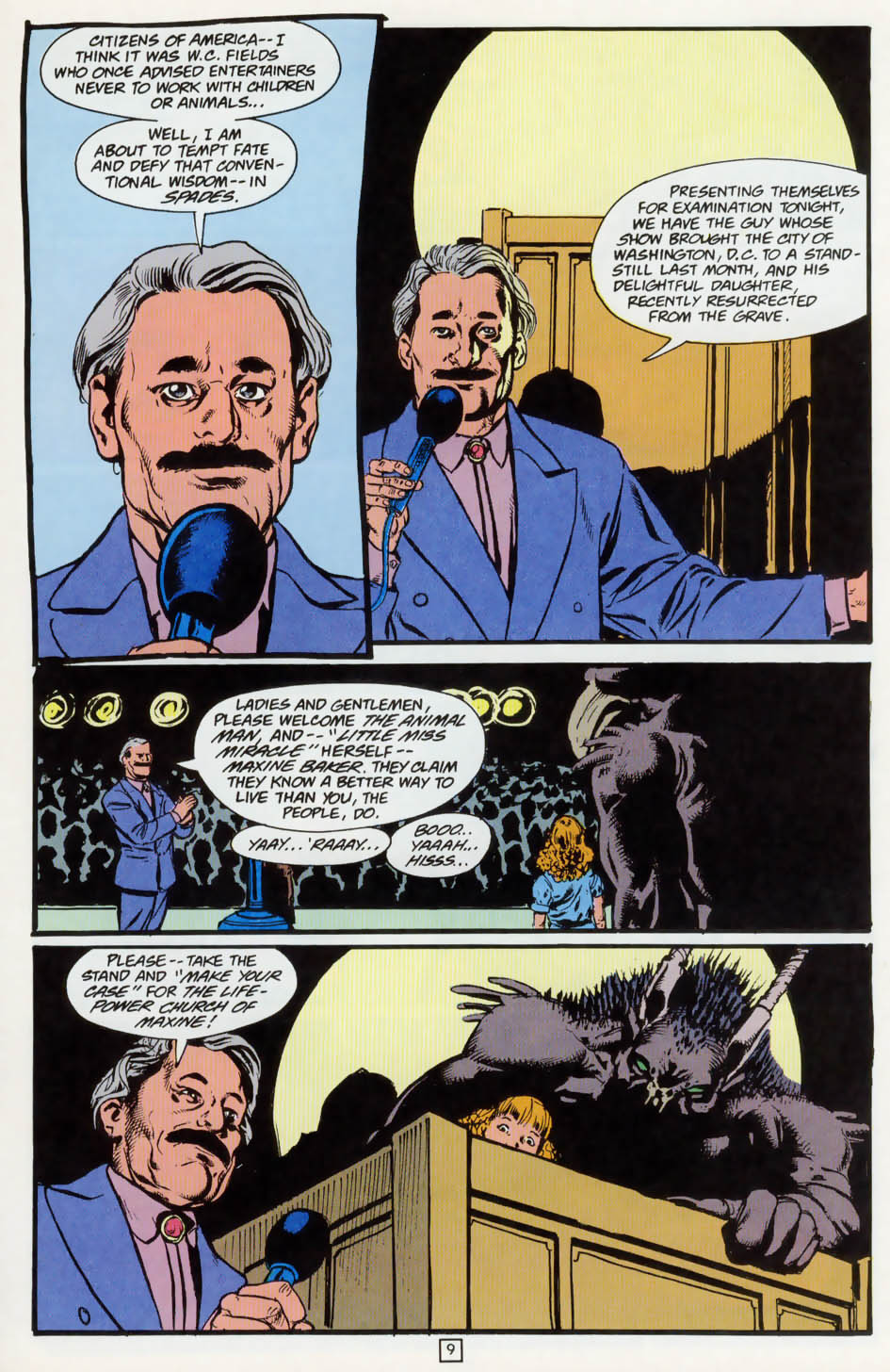 Read online Animal Man (1988) comic -  Issue #73 - 10