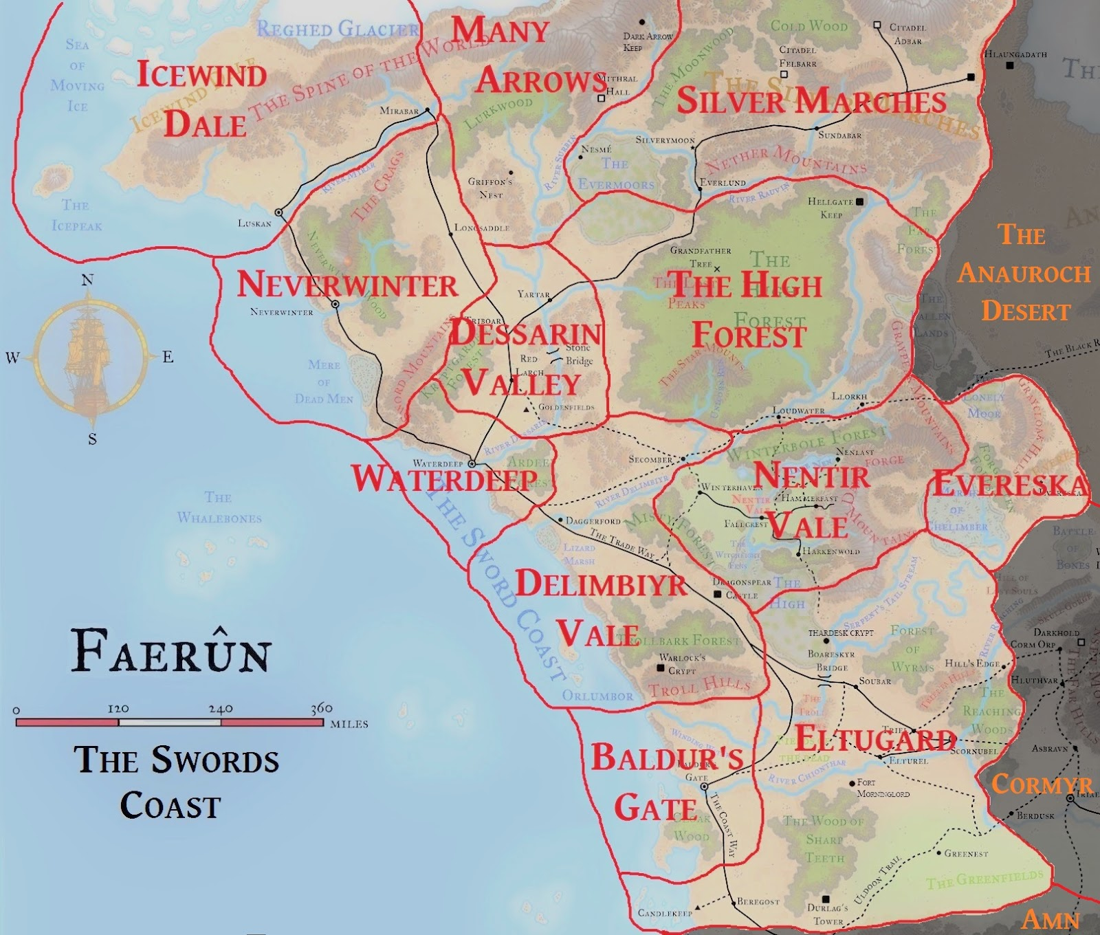 Forgotten No More: The Swords Coast