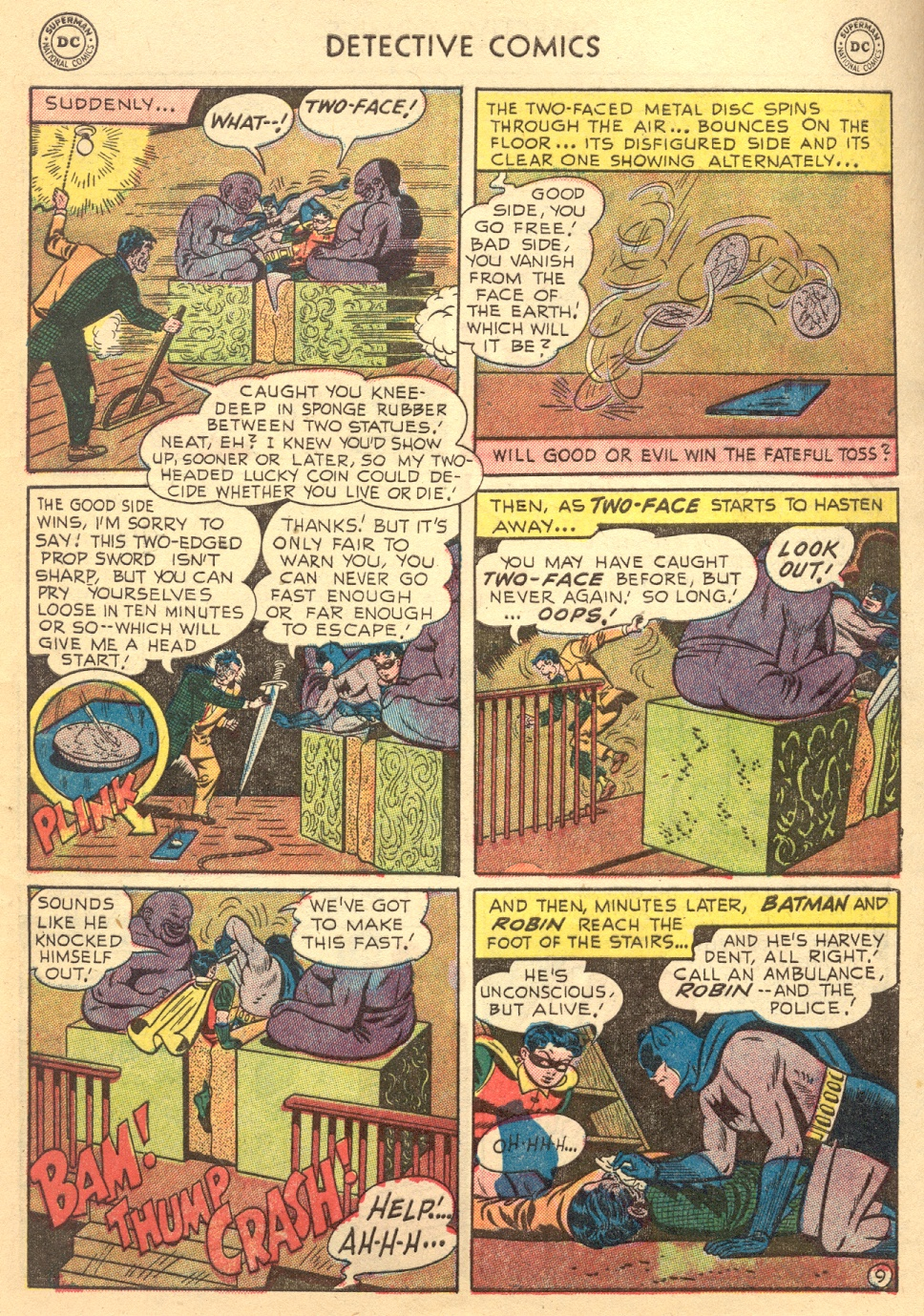 Read online Detective Comics (1937) comic -  Issue #187 - 11