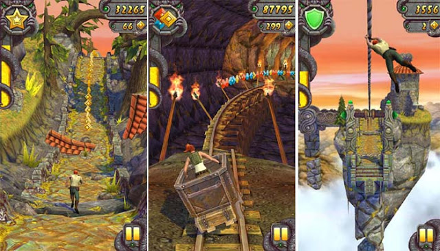 Download Game Temple Run 2 Mod Tiền - Game android mod hay