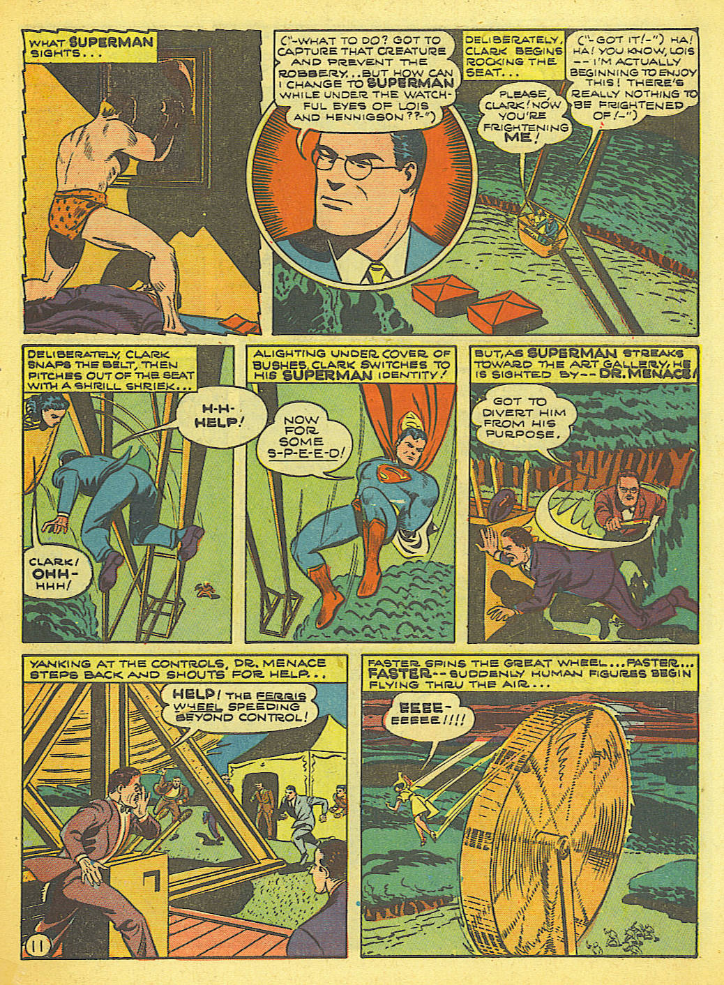 Read online Action Comics (1938) comic -  Issue #58 - 12
