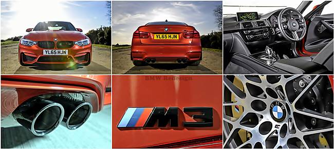 BMW M3 - M4 Competition Package: New Photos from England