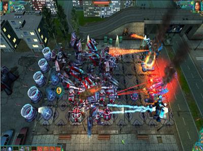 機器人大作戰(Robowars),經典科技風格防守防禦遊戲!