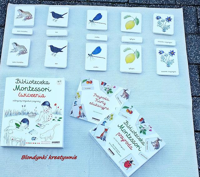 Biblioteczka Montessori. Przyroda i Ćwiczenia; Odkrywaj bogactwo przyrody