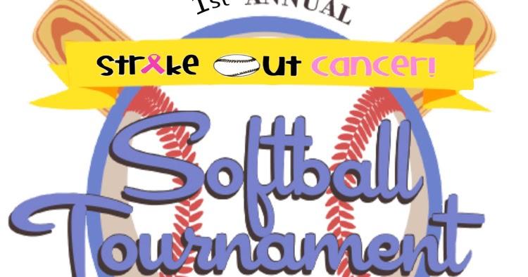 Celebrity softball game 2019 strike out cancer