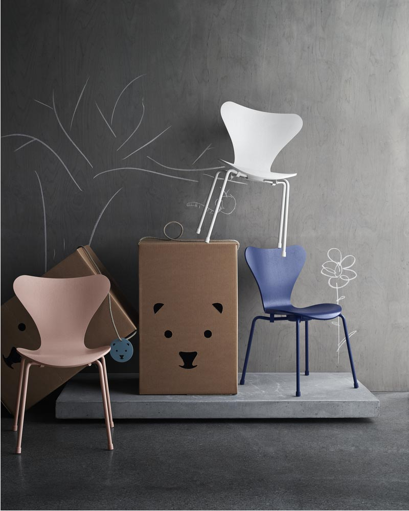 sedia Series 7 per bambini