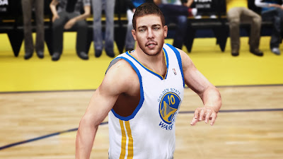 NBA 2K14 David Lee Cyberface Mod