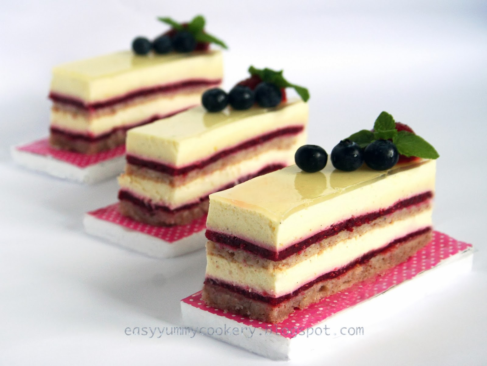 bavarian cream cake easy cookery raspberry vanilla bavarian cake 1530