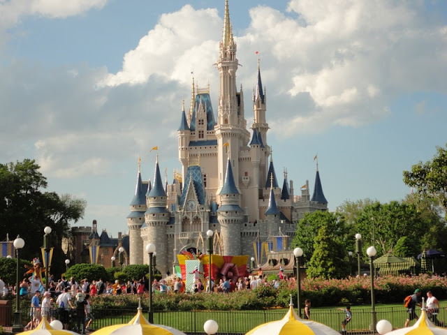 Cinderella Castle at Walt Disney World on Florida