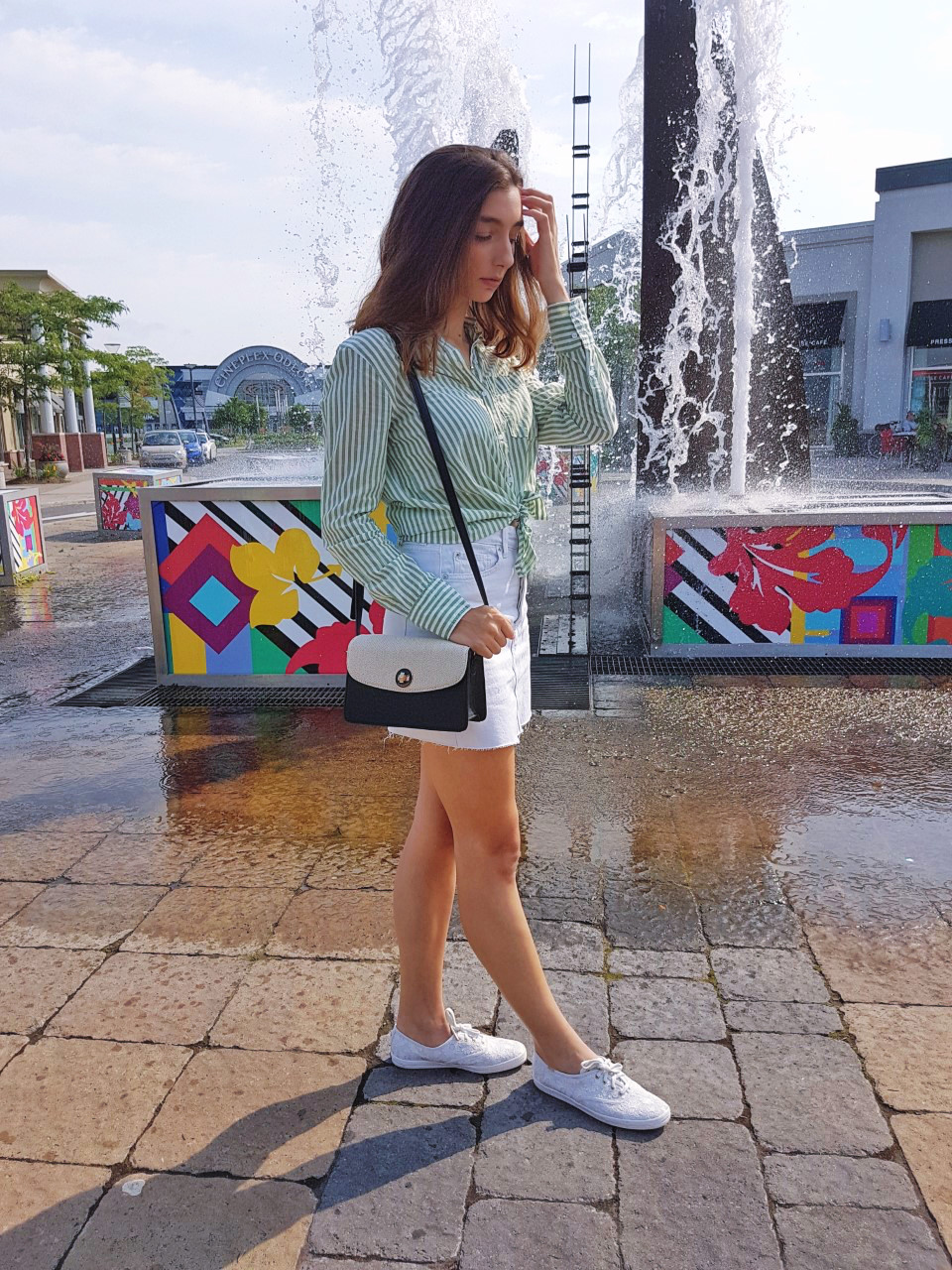 H&M, Keds, Kate Spade, White Denim, Summer, Fashion, Trends, Blogger, Montreal