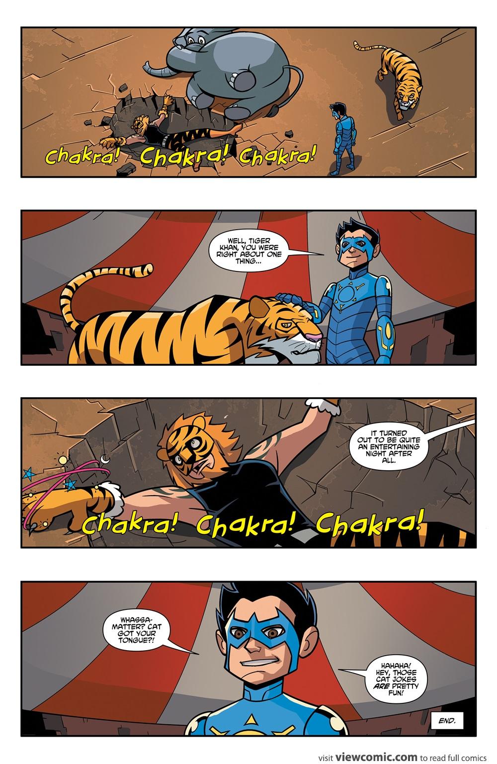 Chakra Comic Pdf