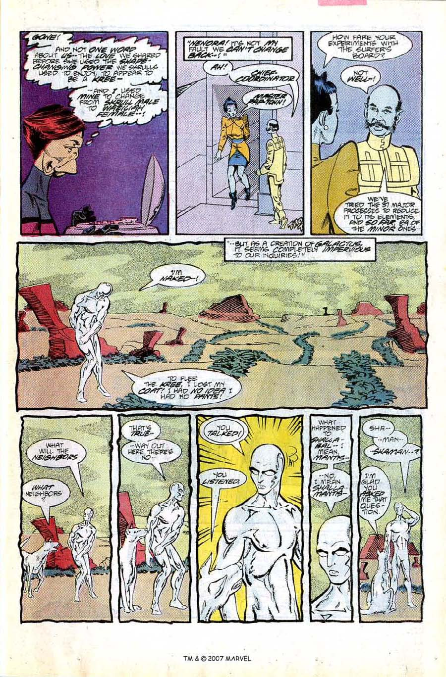 Read online Silver Surfer (1987) comic -  Issue #8 - 11