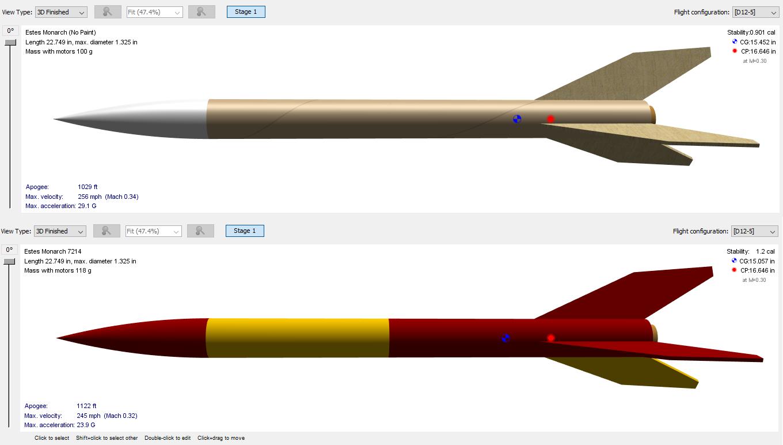 hight resolution of model rocket diagram