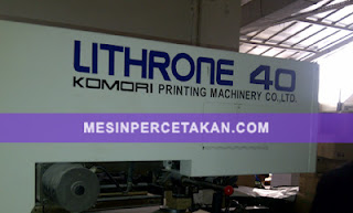 Komori Lithrone 440 | Japan printing machine