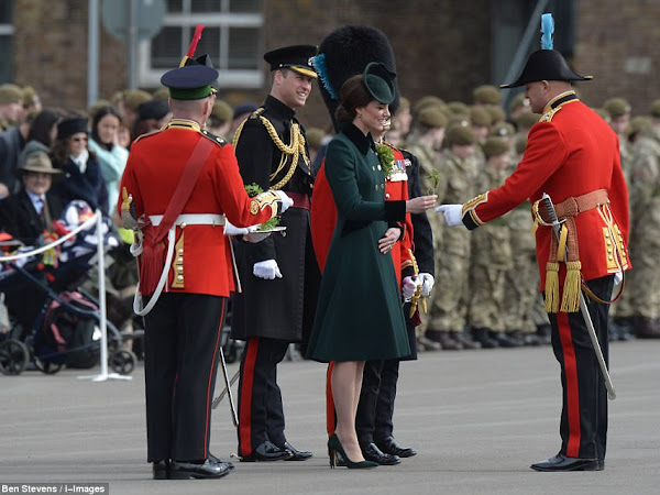Książę i księżna Cambridge we Francji + więcej.